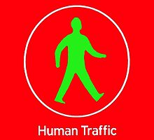 Human Traffic red by japan5m2