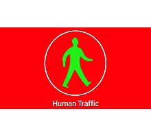 Human Traffic red Photographic Print