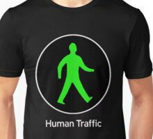 Human Traffic black Unisex T-Shirt