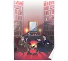 Discussion at 221B Poster