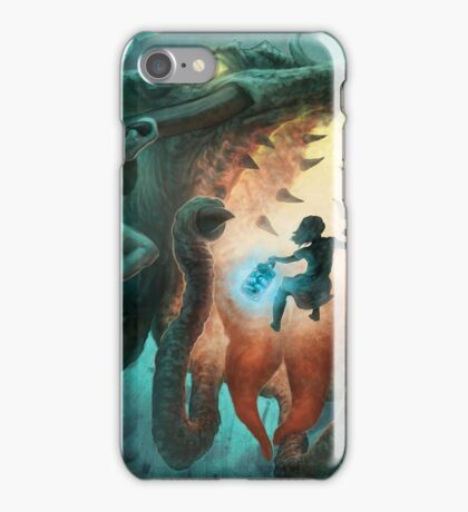 Inoculating the Water Dragon  iPhone Case/Skin
