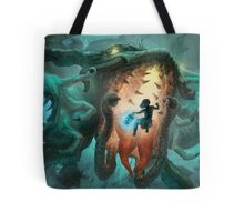 Inoculating the Water Dragon  Tote Bag