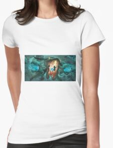 Inoculating the Water Dragon  Womens Fitted T-Shirt