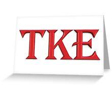 TKE in 3D! Greeting Card