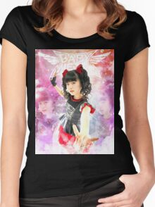 BABYMETAL - ANGEL OF DANCE Women's Fitted Scoop T-Shirt