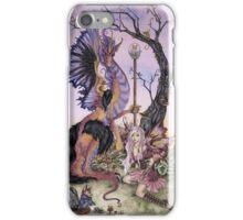 Gathering At Dawn iPhone Case/Skin