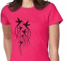 Humming Birds Womens Fitted T-Shirt