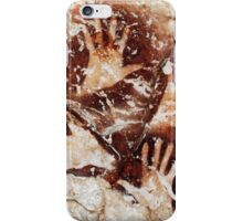 Hands from the past - Lescaux  iPhone Case/Skin