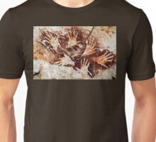 Hands from the past - Lescaux  Unisex T-Shirt