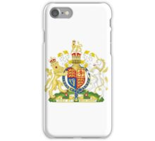 Royal Coat of Arms for the United Kingdom iPhone Case/Skin