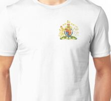 Royal Coat of Arms for the United Kingdom Unisex T-Shirt