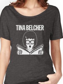 Tina Belcher: Everything Butts (white print) Women's Relaxed Fit T-Shirt