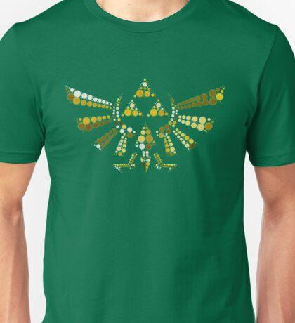 Triforce Dots (Green) Unisex T-Shirt