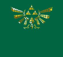 Triforce Dots (Green) Unisex T-Shirt