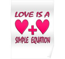 Love is a Simple Equation  Poster