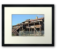 Rusty Duck Restaurant and Saloon, Closed Framed Print