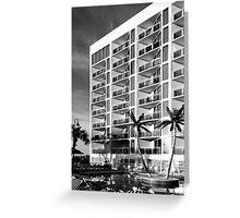 Vacation Hotel Greeting Card