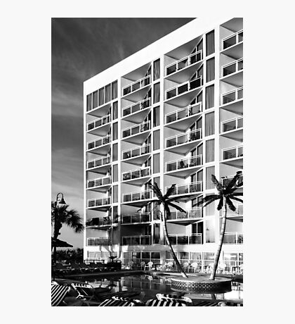 Vacation Hotel Photographic Print