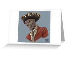 Sexy King of the Zombies Greeting Card