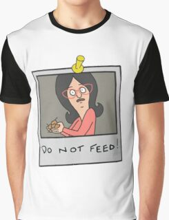 Linda Belcher: Do Not Feed! Graphic T-Shirt