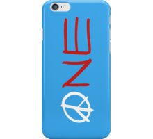 ONE peace sign iPhone Case/Skin