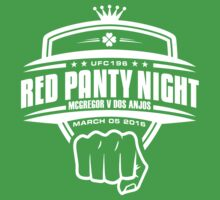 McGregor V Dos Anjos Red Panty Night (W) by TypeTees