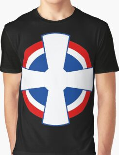 Roundel of the Royal Yugoslav Air Force (1929-1941) Graphic T-Shirt