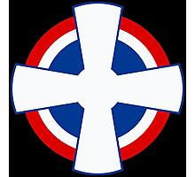 Roundel of the Royal Yugoslav Air Force (1929-1941) Photographic Print