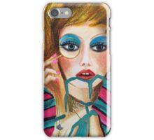 Vague Girl iPhone Case/Skin