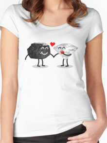 Carbon Dating Women's Fitted Scoop T-Shirt