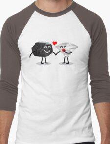 Carbon Dating Men's Baseball ¾ T-Shirt