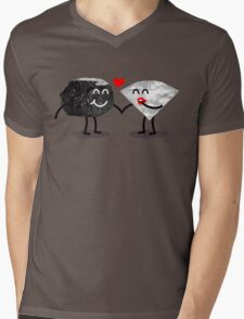 Carbon Dating Mens V-Neck T-Shirt