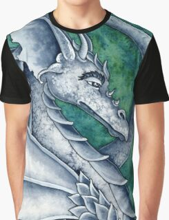 Gray Dragon Graphic T-Shirt