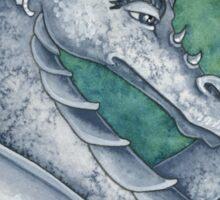 Gray Dragon Sticker