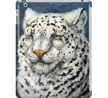 Snow Leopard iPad Case/Skin