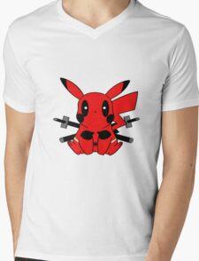 Pikachu Mens V-Neck T-Shirt