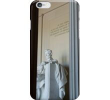 Abraham Lincoln Memorial iPhone Case/Skin