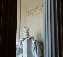 Abraham Lincoln Memorial by 827  Photography