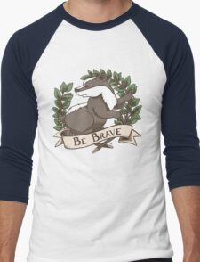Be Brave Badger Crest T-Shirt