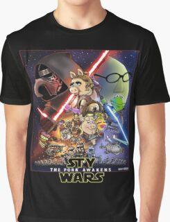 The Pork Awakens Graphic T-Shirt
