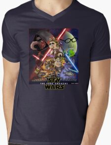 The Pork Awakens Mens V-Neck T-Shirt