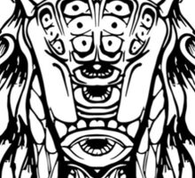 Cicada Abstract Design Sticker