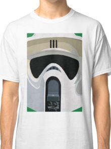Scout Trooper Star Wars Print  Classic T-Shirt