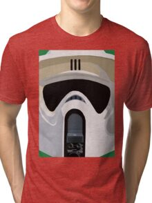 Scout Trooper Star Wars Print  Tri-blend T-Shirt