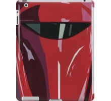 Red Imperial Guard Star Wars Print  iPad Case/Skin