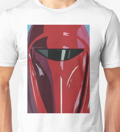 Red Imperial Guard Star Wars Print  Unisex T-Shirt