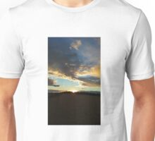 Sunset Clouds Over Dyke 8 Unisex T-Shirt