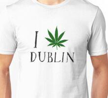 Dublin Ireland Weed Unisex T-Shirt