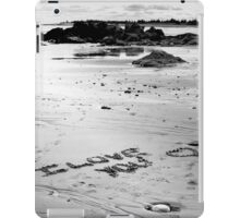Love On The Beach iPad Case/Skin