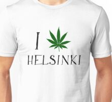 Finland Helsinki Weed Unisex T-Shirt